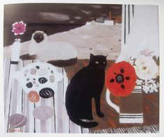 Mary Fedden  cats