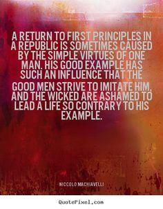 an introduction to the life of niccolo machiavelli This is a brief on niccolò machiavelli and the prince that i prepared for my exam the prince: an introduction to machiavelli's political life is, at bottom.