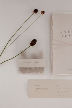 Elegant Minimal Stationery Suite For Wedding // Minimalist Bridal Inspiration Styled By One Stylish Day With Foliage & Dried Flowers // Bridal Wear By Halfpenny London // Images By Agnes Black Wedding Stationery Inspiration, Wedding Stationary, Wedding Invitations, Minimal Wedding, Chic Wedding, Stationery Design, Invitation Design, Invitation Cards, Wedding Paper