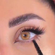 Makeup Eye Looks, Eye Makeup Steps, Eye Makeup Art, Contour Makeup, Eyeshadow Makeup, Makeup For Hooded Eyelids, Hooded Eye Makeup Tutorial, Dramatic Makeup, Romantic Eye Makeup