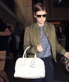 Kate Mara spotted with our new Gotham Bauletto Tote