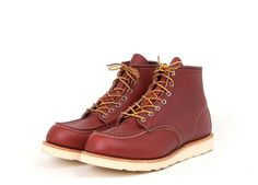 "Red Wing Shoes 8131 - 6"" Classic Moc Oro Russet"