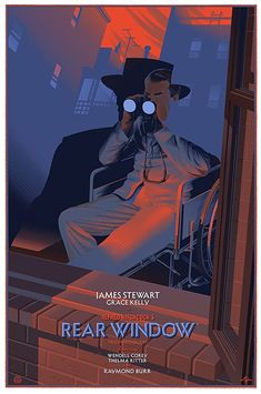 Rear Window (1954) A wheelchair-bound photographer spies on his neighbors from his apartment window and becomes convinced one of them has committed murder.
