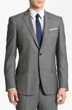 John Varvatos Star USA 'Bedford' Trim Fit Suit available at #Nordstrom