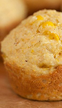 Corn bread and corn muffins, and biscuits for that matter, are much like barbecue. These are the most basic of recipes passed down from grandmot… Sweet Cornbread Muffins, Creamed Corn Cornbread, Corn Muffins, Cornbread Recipes, Cornmeal Muffins Recipe, Savoury Recipes, Mini Muffins, Zucchini Muffins, Muffins Blueberry