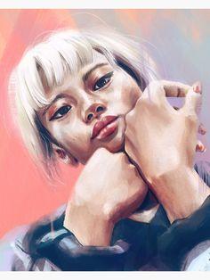 """Chalcedony I."" Art Print by tomkaanna Portrait Paintings, Colour Images, Sell Your Art, Digital Illustration, Print Design, Vibrant Colors, My Arts, Illustrations, Art Prints"