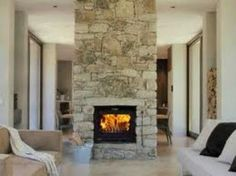 stone fireplace design ideas | Art Design and Craft