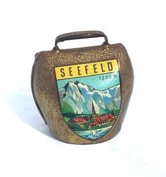 VINTAGE AUSTRIAN SOUVENIR SEEFELD APPLIED TRANSFER BRASS COW BELL - YOUTUBE