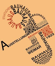 Weimar , Dessau , Berlin In the Bauhaus school of design will turn 100 and Germany will launch a three-year celebration, certain to be one of the most important cultural events in the world! After long admiring Bauhaus design, I'm dedicating Bauhaus Art, Bauhaus Design, Book Cover Design, Book Design, Laszlo Moholy Nagy, Medieval Crafts, Poetry Inspiration, Design Movements, History Projects