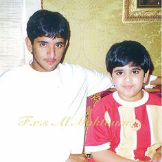 Hamdan bin Mohammed bin Rashid Al Maktoum y su primo Mohammed bin Rashed bin Khalifa Al Maktoum. Fotografía: Fátima RSM