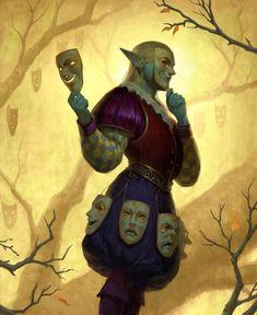 m High Elf Rogue Assassin deciduous forest Master of Masks story by SamC-Art on DeviantArt Fantasy Kunst, Fantasy Rpg, Fantasy Artwork, Dark Fantasy, Dungeons And Dragons Characters, Dnd Characters, Fantasy Characters, Character Concept, Character Art