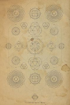 at http://society6.com/TheInfiniteSparkofBeing / Sacred Geometry <3