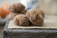 This is the most perfect molasses cookie I've ever eaten. I love their soft and chewy texture, rich molasses flavor, and their contrasting sweetness and spice.