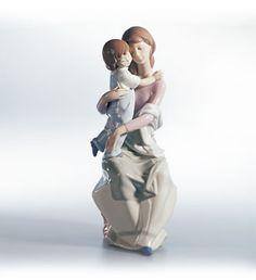 """Issued in 1999, this Lladro statue is called """"My Mother's Love."""""""