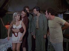"M*A*S*H: Season 1, Episode 7 Bananas, Crackers and Nuts (5 Nov. 1972) Hawkeye"" Pierce, Alan Alda, Major Frank Burns, Larry Linville, Major Margaret Houlihan, Hotlips, Loretta Swit,mash, 4077,"