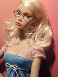 fashion doll, Poppy with glasses