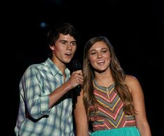 John Luke and Sadie Robertson