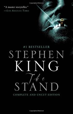 The Stand by Stephen King. Stephen King's apocalyptic vision of a world blasted by plague and tangled in an elemental struggle between good and evil remains as riveting and eerily plausible as when it was first published. Reading right now! I Love Books, Great Books, Books To Read, My Books, Dark Books, The Stand Stephen King, Stephen King Books, Carlos Castaneda, The Stand Movie