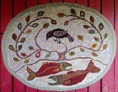 Sanctuary Pattern Only 25 x 32 oval par northwestfolkdesign sur Etsy