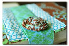 A Time for Everything: Handmade fabric Bible cover... and a surprise