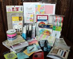 Mega Mother's Day Giveaway going on now at Ginger Snap Scraps blog. Over $300 in goodies!
