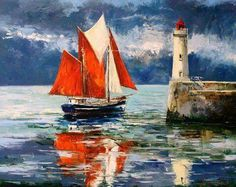 Gleb Goloubetski. Oil on canvas