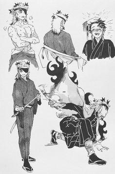 Anime Demon, Anime Manga, Anime Art, Demon Slayer, Slayer Anime, Mini Comic, Demon Hunter, Handsome Anime Guys, Cute Anime Character