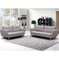 Create the perfect living room set up with the complete look of the rugged Sullivan 2 Piece Lounge Set from Iniko. Online Furniture, Home Furniture, Furniture Design, Living Room Sets, Living Spaces, Retro Lounge, Lounge Couch, Lounge Suites, Sofa Shop