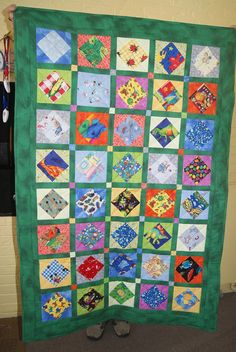 Fun Quilt for activity for kids!   I Spy Quilt Too.