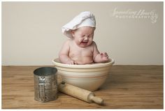 6 Month Boy Studio Session {Knoxville Oak Ridge Powell}   Sprouting Hearts Photography