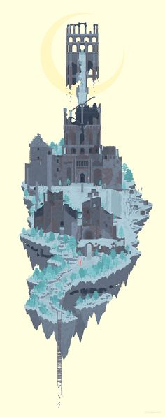 Dark Souls Painted World of Ariamis Bloodborne, Pixel Art, Arte Dark Souls, Soul Art, Henri Matisse, Fantasy World, Illustrations, Game Art, Concept Art