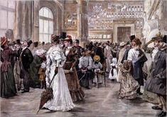 Wilhelm Gause - Ein Sonntag in der Ägyptischen Abteilung des Kunsthistorischen Museums