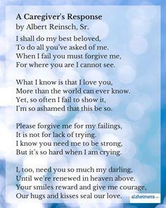 Poem: A Caregiver's Response