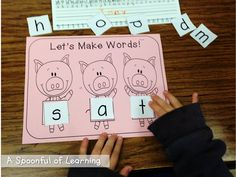 3 Little Pigs Activities and FREEBIES! 3 Little Pigs Activities, Fairy Tale Activities, Rhyming Activities, Kindergarten Activities, Book Activities, Fairy Tales Unit, Fairy Tale Theme, Pig Crafts, Traditional Tales