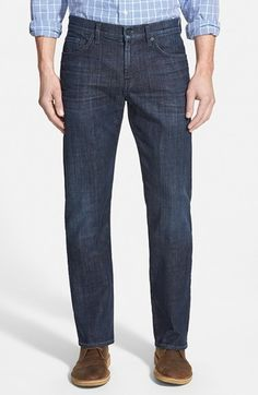 Seven's iconic Austyn style, tailored with comfortable room from hip to hem, is crafted in America from premiere Luxe Performance denim that's lightweight, stretchy and resilient, offering amazing overnight shape recovery. 33″ inseam; 18″ leg opening; 10″ front rise; 15″ back rise (size 32). Zip fly with button closure. Five-pocket style. 92% cotton, 6% polyester,...  Price : 198.00$