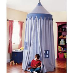What little boy wouldn't love having this play tent in his playroom or bedroom?