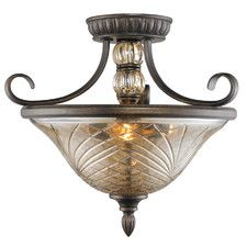 Tanya Convertible 3 Light Semi-Flush Mount