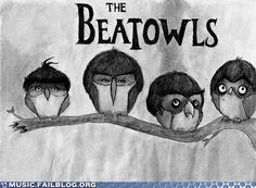 beatles and owls combined! my life is now complete! :)