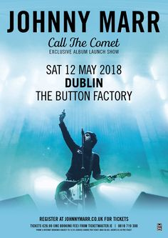 Buy Johnny Marr tickets from Ticketmaster IE. Johnny Marr tour dates, event details + much more. Button Factory, Johnny Marr, Concert Posters, Movie Posters, Tour Posters, Dublin, Ticket, Dating, Tours