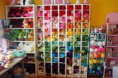 ...and I thought I had too much yarn!  Looks like I'm only getting started!