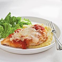 Dinner Tonight: Chicken and Turkey | Oven-Fried Chicken Parmesan | CookingLight.com