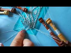 Needle Lace, Bobbin Lace, Lace Heart, Lace Jewelry, Lace Detail, Bobby Pins, Hair Accessories, Youtube, Lace