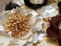 Paper flower PEONY/Paper flower wall/Wedding by SydneyPaperFlowers