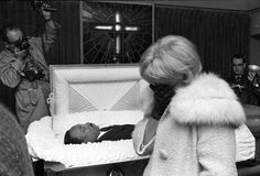 Yolanda King Funeral Services | An unidentified woman weeps at the R.S. Lewis funeral home in Memphis ...