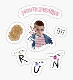 Pegatina Stranger Things Sticker Sheet