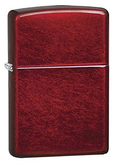 Zippo Candy Apple Red Pocket Lighter ** Click image to review more details. (Note:Amazon affiliate link) #CoolOutdoorsGadgets