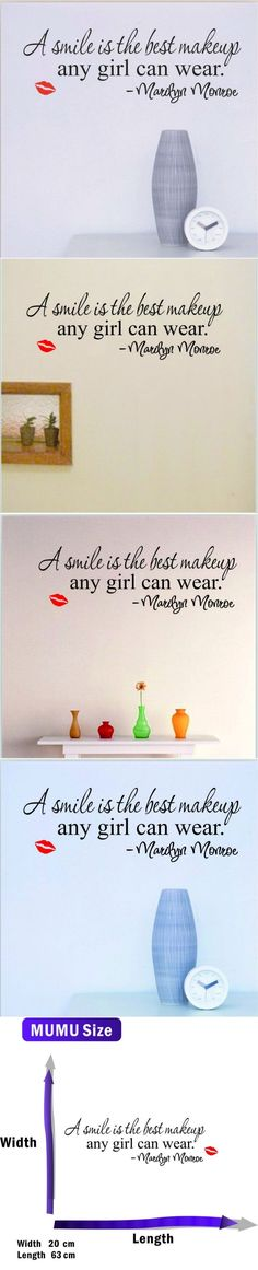 Home Wall Decals Inspirational Quotes for Woman