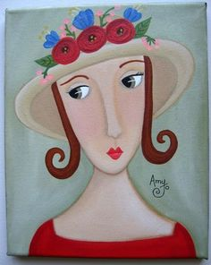 Amy Jo Hill uploaded this image to 'Original Folk Art by Amy Jo Hill'. See the album on Photobucket.