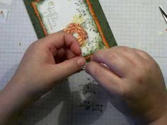 Shabby Ribbon Flower Video