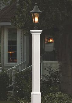 Shed light on a drive or walkway while adding handsome curb appeal to your home with the Madison Lamp Post.